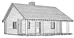 2 bedroom log cabin - free plans