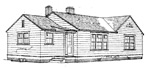 2 bedroom, 25' × 47' house - free plans