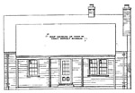 3 bedroom, 1 1/2 story house, 26' × 32' - free plans