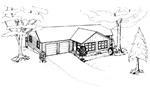 3 bedroom 32' × 37' house - free plans