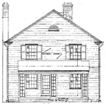 4 bedroom, 2 story house, 28' × 30' - free plans