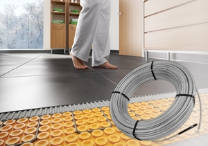 Schluter®-Systems DITRA-HEAT new cable lengths
