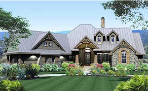 3 bedroom - 2,106 sq. ft. house plans