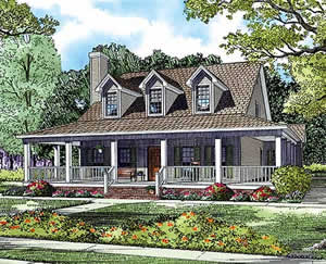 4 bedroom - 2,039 sq. ft. house plans