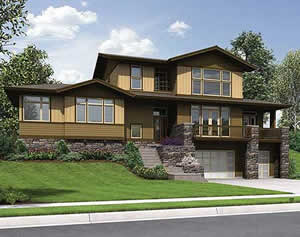 feature - 3,202 sq. ft. house plans