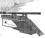 attached raised deck plans