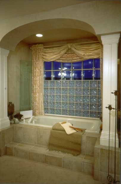 Glass Blocks As Bathroom Window