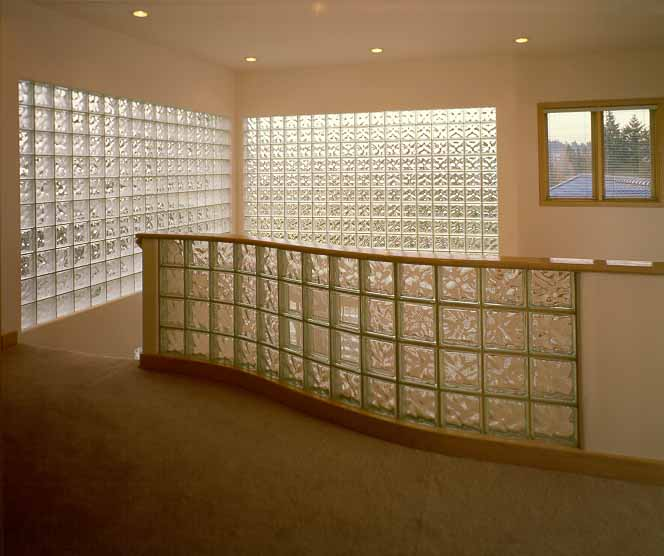 Using glass blocks in your home - Glass bricks designs walls ...