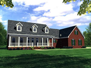3 bedroom - 2,505 sq. ft. house plans