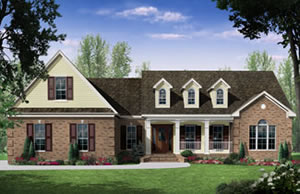3 bedroom - 2,418 sq. ft. house plans