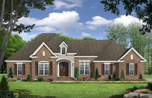 3 bedroom - 2,389 sq. ft. house plans