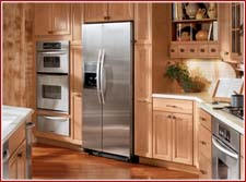 Custom manufactured kitchen cabinets, style 2