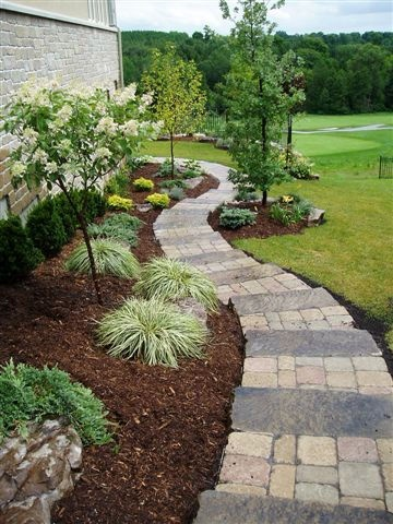 How to landscape your home for Landscaping ideas for side of house