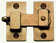 decorative cabinet latch