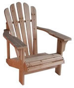 manufactured Adirondack chair