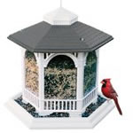 manufactured bird feeder