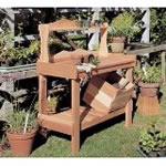 manufactured potting bench