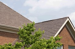 metal slate roof for home improvement or remodel