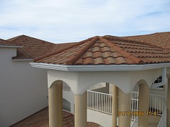 metal tile roof for home improvement or remodel