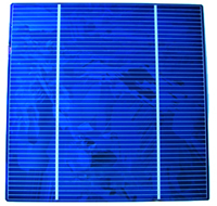 poly-crystalline (PV) solar cell
