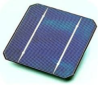 single-crystalline (PV) solar cell