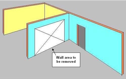 Removing A Load Bearing Wall Part 1