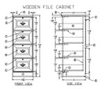 build wood file cabinet plans