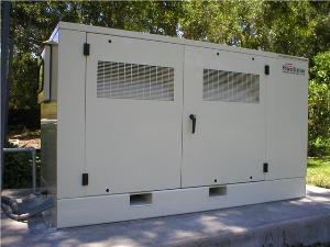 25kw Propane fueled standby generator