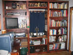 built-in bookcase plan