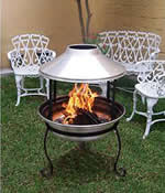 chiminea fire pit - free plans, drawings & instructions