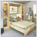 Murphy bed - free plans, drawings & instructions