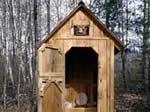 outhouse - free plans, drawings & instructions