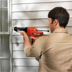 electric caulking gun