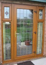 Exterior Single French Door