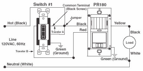 Pr150 Pr180 Wiring Diagram 3 Way Switch Replacement