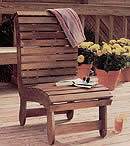 Deck outdoor chair plans