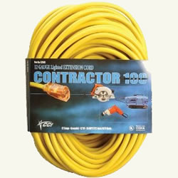 12/3 outdoor 100' extension cord