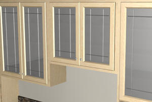 doors cabinet glass design cabinets update hgtv kitchen with kitchens rooms inserts