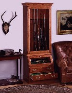 rifle gun cabinet plans