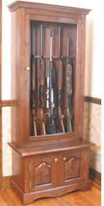 How To Build A Gun & Rifle Cabinet - 7 Free Plans