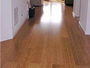 Hardwood Flooring Installed Lengthwise Perpendicular To Entrance