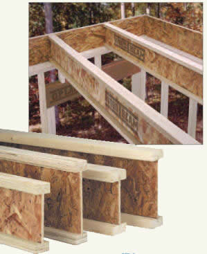 Wooden I Beam Joists New Images