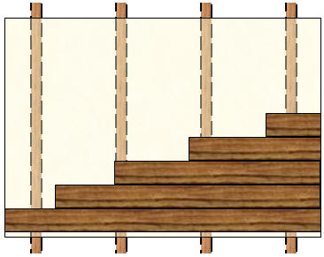 Hardwood Floor Layout character Direction Of Hardwood Boards Over Plywood Or Composite Material Fastened To Floor Joists