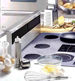 Kitchen Pop Up Downdraft Range Hood