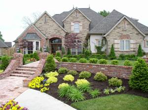 Well landscaped house