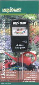Soil pH test meter
