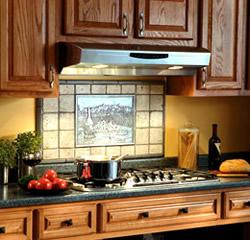 Under Cabinet Kitchen Range Hood With Lights