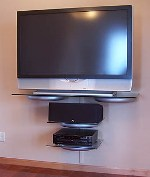 Gallery For Wall Mounted Flat Screen Television
