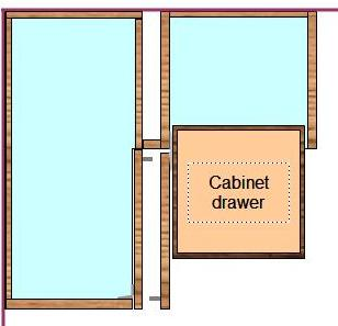 How to Install Frameless Cabinets