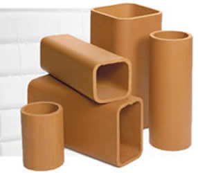 clay chimney tiles